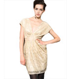 Mina Selby Uk dress beige S/M