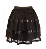 Lipsy Jane skirt black XS