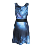 St-Martins  Lucy dress Universe blue S-M