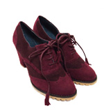 Nice Things Budapester Pumps Gr.38 rot