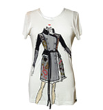 Desigual by L Coltrane T-shirt white L