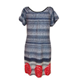 Lavand Estefania dress blue M-L