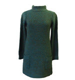 St-Martins Claudia knit dress green XS