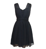 Lipsy Miss Naughty dress black M