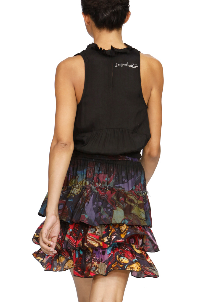 Desigual Turina Kleid schwarz Gr.42 - Born2Style Fashion Store
