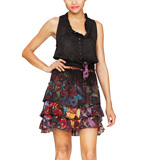 Desigual Turina dress black XL