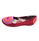 Desigual Laurel Slipper rojo abril 40 rot