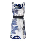 St-Martins  Lucy dress Cherry blossom blue M