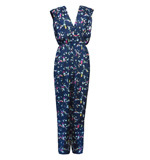 Traffic People Virtue Jumpsuit Birds blau XS-S