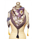 St-Martins Aria scarf Royal blue