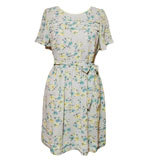 Darling Nicola Pansies dress grey XS