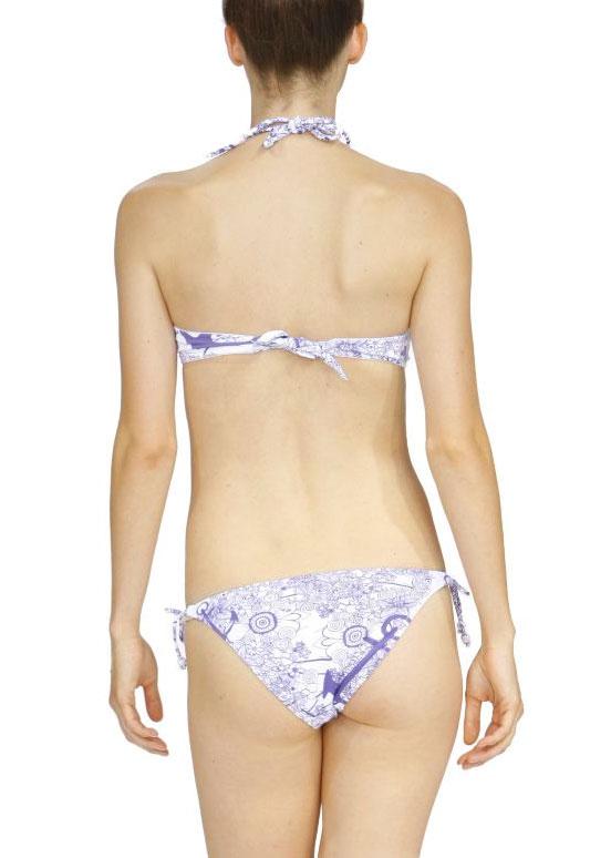 Desigual Loop Bikini Unterteil lila Gr.40