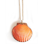 Fever London necklace shell gold