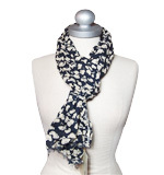 Nice Things Cloudes and Planes scarf blue