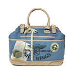Nice Things Maletin Airlines bag blue