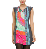 Desigual Dolmen dress gris vigore grey M-L