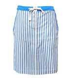 St-Martins Mimosa skirt striped blue