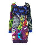 Desigual Stellar dress azafata blue