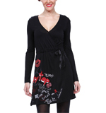 Desigual Pisa dress black M-L