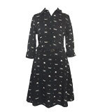 Yumi Audrey dress black XS-S