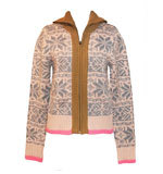 St-Martins Tilly knit jacket maple sugar
