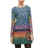 Desigual by L Semko dress green M