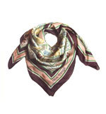 Nice Things Mineral Lesson silk scarf