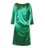 St-Martins Karen cocktail dress verdant green M-L