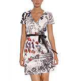 Desigual Sole dress marfil