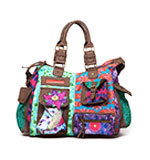 Desigual Bols London Peacock bag