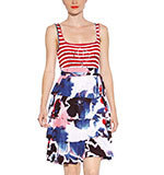 Desigual Hielo dress red