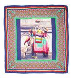Nice Things Elephant silk scarf