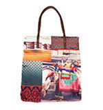 Nice Things Patch Indian Shopping bag