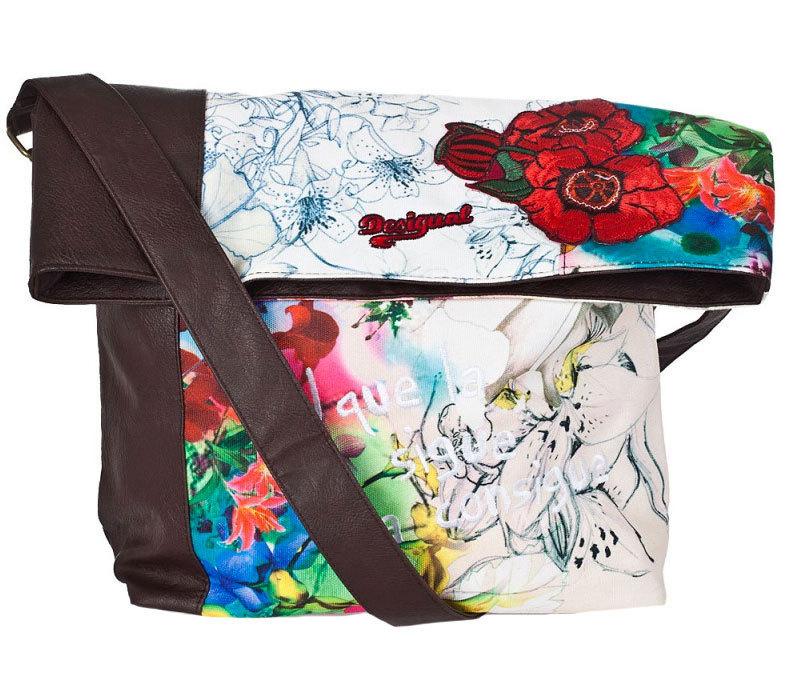 desigual ibiza tasche algodon braun born2style fashion store. Black Bedroom Furniture Sets. Home Design Ideas