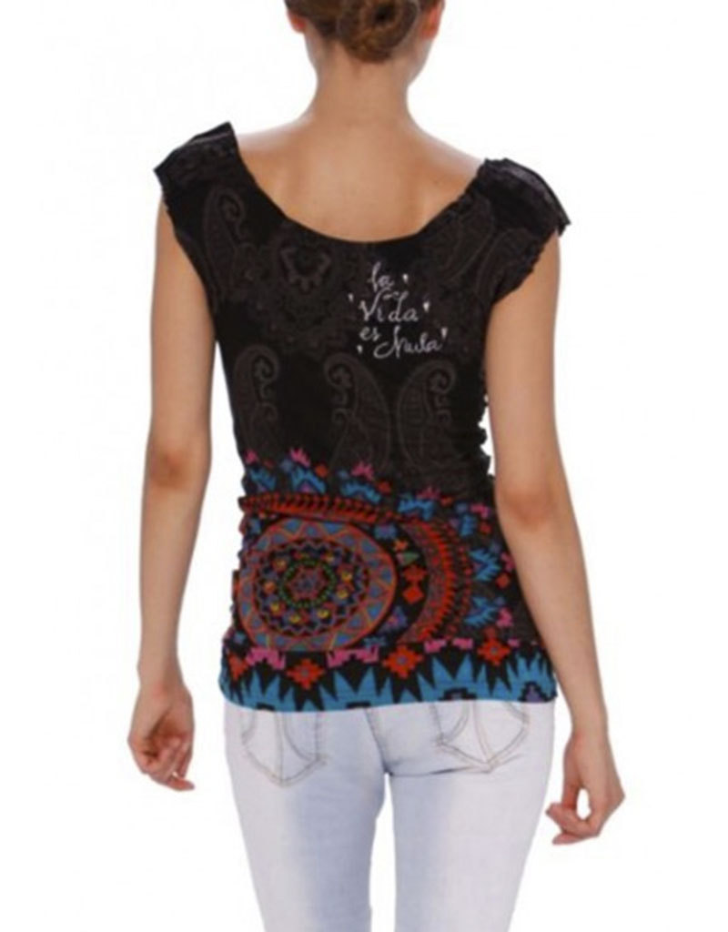 desigual ts fun t shirt xl born2style fashion store. Black Bedroom Furniture Sets. Home Design Ideas