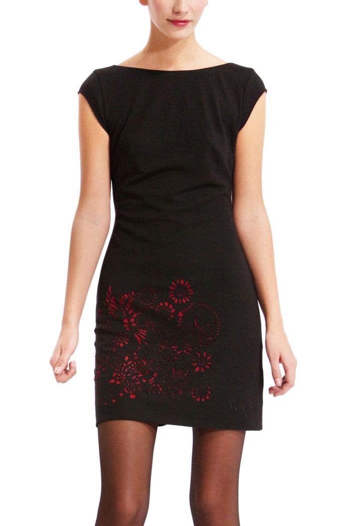 Kleid schwarz desigual