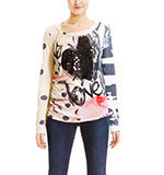 Desigual TS Lluvia Shirt sun light M