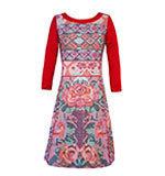 Surkana Sveta dress red XL