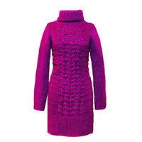 Surkana Aurora knit dress berry M-XL