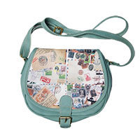 Round Trip shoulder bag green
