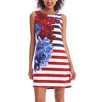 Desigual by L Wov Kleid nautical blue Gr.34-36