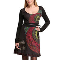 Desigual Catalina dress black M