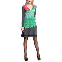 Desigual Estefy dress marino M-XL