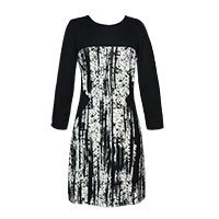 Lavand Glorian dress black