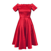 La Vie Melissa dress red Gr.36-38