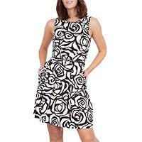Closet Monochrome V-Back dress XS or L