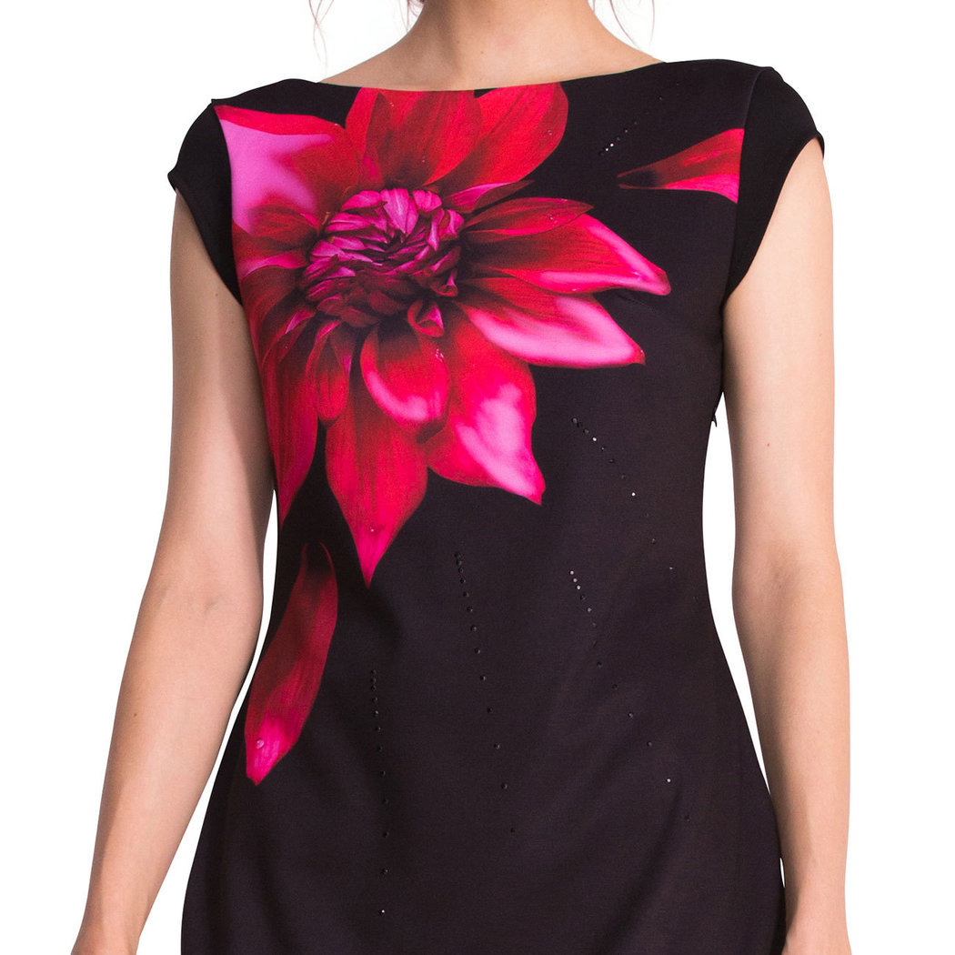 desigual isla dress black m born2style fashion store. Black Bedroom Furniture Sets. Home Design Ideas