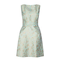 Uttam Pastel  Jacquard dress mint XS-S