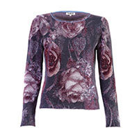 Ivko Brocate rose jumper anthrazit M