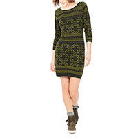 Surkana Opya knitdress green M-XL
